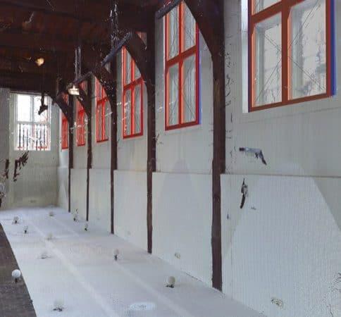 Inmeten kozijnen Museum Boerhaave Leiden