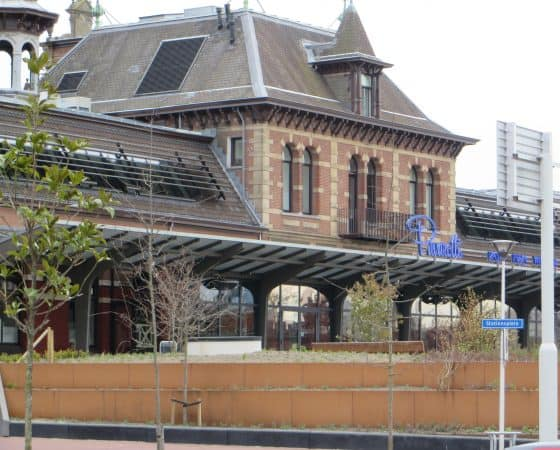 Herbestemming Station Delft