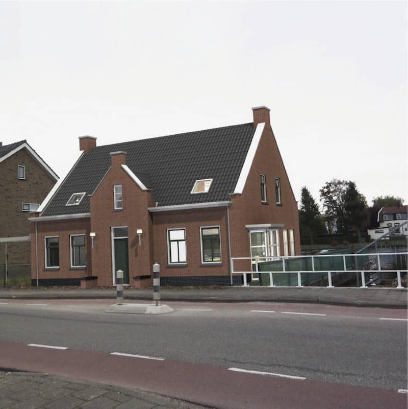 Stramien-woonhuis Koudekerk nieuw Dorpsstraat