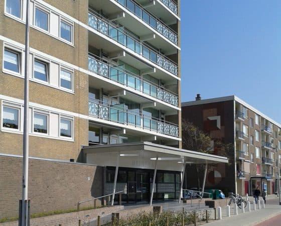 Renovatie Rijnflat in Katwijk