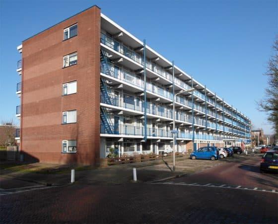Groot onderhoud wooncomplex Schaepmanstraat in Katwijk