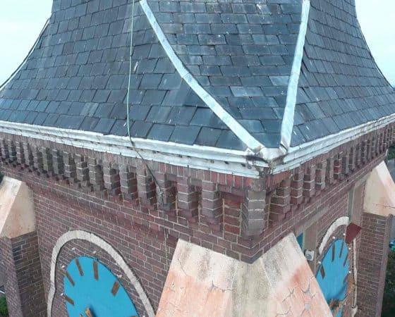 Groot onderhoud Engelbewaarderskerk Hazerswoude-Dorp